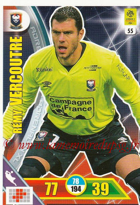 2017-18 - Panini Adrenalyn XL Ligue 1 - N° 055 - Rémy VERCOUTRE (Caen)