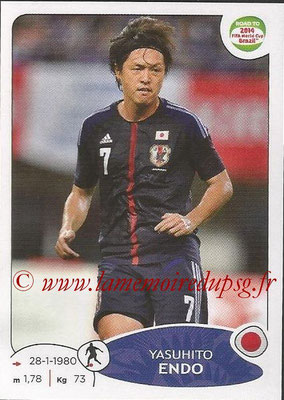 2014 - Panini Road to FIFA World Cup Brazil Stickers - N° 403 - Yasuhito ENDO (Japon)