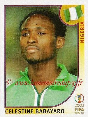 2002 - Panini FIFA World Cup Stickers - N° 411 - Celestine BABAYARO (Nigéria)