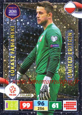 2018 - Panini Road to FIFA World Cup Russia Adrenalyn XL - N° LE-LF - Lukasz FABIANSKI (Pologn) (Limited Edition)