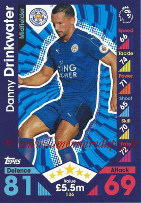 2016-17 - Topps Match Attax Premier League - N° 136