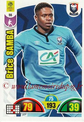 2018-19 - Panini Adrenalyn XL Ligue 1 - N° 055 - Brice SAMBA (Caen)