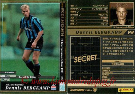 2013-14 - WCCF - N° ATLE-EXT - Dennis BERGKAMP (Inter Milan FC) (Extra)