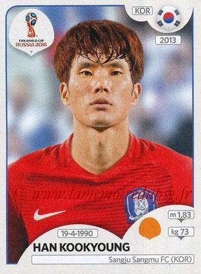 2018 - Panini FIFA World Cup Russia Stickers - N° 504 - Han KOOKYOUNG (Corée du Sud)