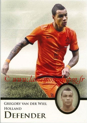 2013 - Futera World Football Unique - N° 030 - Gregory VAN DER WIEL (Pays-Bas) (Defender)