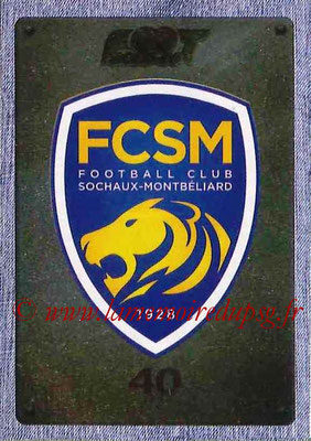 2015-16 - Panini Ligue 1 Stickers - N° 515 - Ecusson FC Sochaux-Montbélliard