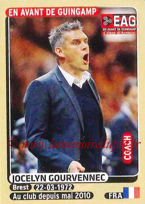 2015-16 - Panini Ligue 1 Stickers - N° 126 - Jocelyn GOURVENNEC (EA Guingamp) (Coach)