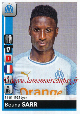 2018-19 - Panini Ligue 1 Stickers - N° 209 - Bouna SARR (Marseille)
