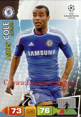 2011-12 - Panini Champions League Cards - N° 085 - Ashley COLE (Chelsea FC)