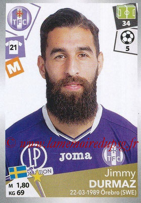 2017-18 - Panini Ligue 1 Stickers - N° 479 - Jimmy DURMAZ (Toulouse)