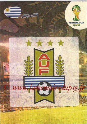 2014 - Panini FIFA World Cup Brazil Adrenalyn XL - N° 304 - Logo Uruguay