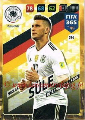 2017-18 - Panini FIFA 365 Cards - N° 396 - Niklas SÜLE (Allemagne) (International Star)
