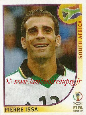 2002 - Panini FIFA World Cup Stickers - N° 155 - Pierre ISSA (Afrique du Sud)