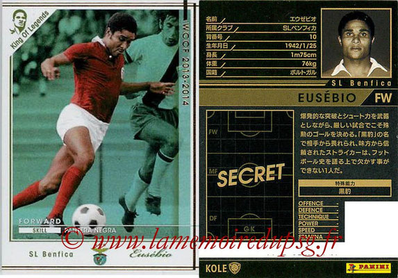 2013-14 - WCCF - N° KOLE - EUSEBIO (Benfica) (King of Legends)