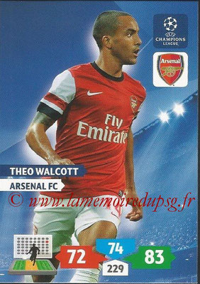 2013-14 - Adrenalyn XL champions League N° 051 - Theo WALCOTT (Arsenal FC)