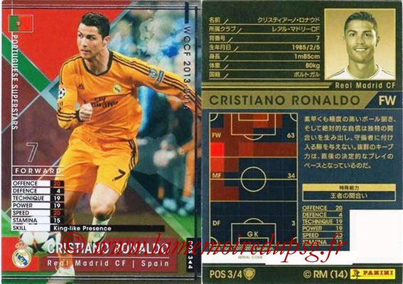 2013-14 - WCCF - N° POS3 - Cristiano RONALDO (Real Madrid CF) (Portuguese Superstars)