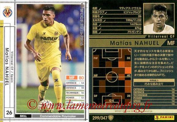 2015-16 - Panini WCCF - N° 299 - Matias NAHUEL (Villarreal CF)