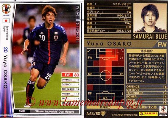 2012-13 - WCCF - N° A63 - Yuya OSAKO (Japon)