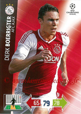 2012-13 - Adrenalyn XL champions League N° 005 - Derk BOERRIGTER (AFC Ajax)