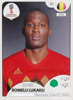 2018 - Panini FIFA World Cup Russia Stickers - N° 531 - Romelu LUKAKU (Belgique)