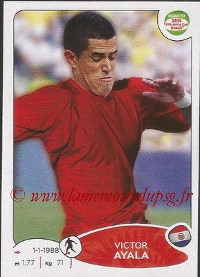 2014 - Panini Road to FIFA World Cup Brazil Stickers - N° 206 - Victor AYALA (Paraguay)