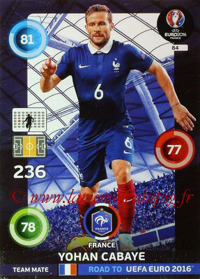 N° 084 - Yohan CABAYE (Jan 14-??, PSG > 2015, France)