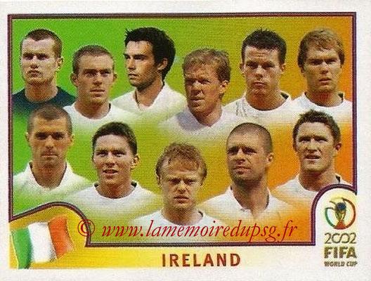 2002 - Panini FIFA World Cup Stickers - N° 349 - Equipe Irlande