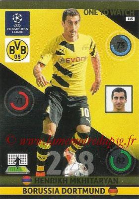 2014-15 - Adrenalyn XL champions League N° 115 - Henrikh MKHITARYAN (Borussia Dortmund) (One to watch)
