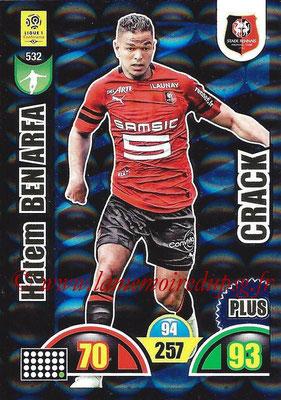 2018-19 - Panini Adrenalyn XL Ligue 1 - N° 532 - Hatem BEN ARFA (Rennes) (Crack Plus)
