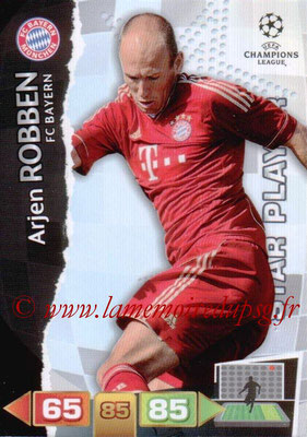 2011-12 - Panini Champions League Cards - N° 066 - Arjen ROBBEN (FC Bayern Munich) (Star Player)