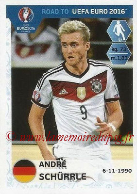 Panini Road to Euro 2016 Stickers - N° 059 - Andre SCHURRLE (Allemagne)