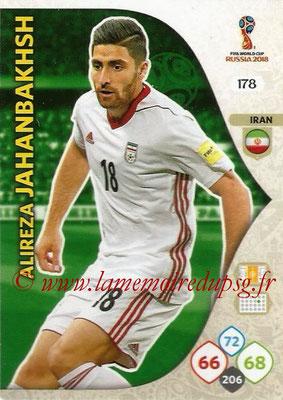2018 - Panini FIFA World Cup Russia Adrenalyn XL - N° 178 - Alireza JAHANBAKHSH (Iran)