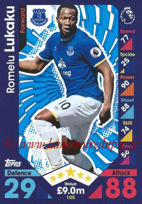2016-17 - Topps Match Attax Premier League - N° 105