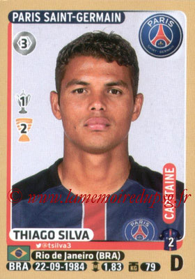 2015-16 - Panini Ligue 1 Stickers - N° 346 - Thiago SILVA (Paris Saint-Germain)
