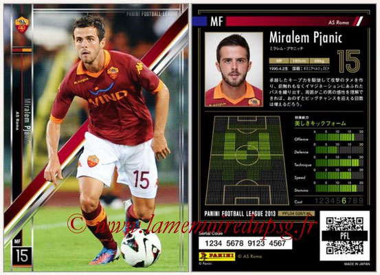 Panini Football League 2013 - PFL04 - N° 028 - Miralem PJANIC (AS Roma)