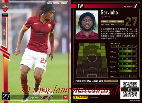 Panini Football League 2015 - PFL13 - N° 020 - GERVINHO (AS Roma)