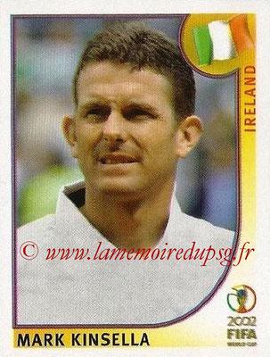 2002 - Panini FIFA World Cup Stickers - N° 359 - Mark KINSELLA (Irlande)