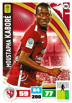 2016-17 - Panini Adrenalyn XL Ligue 1 - N° 198 - Moustapha  KABORE (Metz)