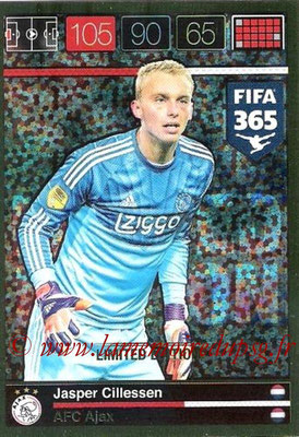 2015-16 - Panini Adrenalyn XL FIFA 365 - N° LE-JC - Jasper CILLESSEN (AFC Ajax) (Limited Edition)