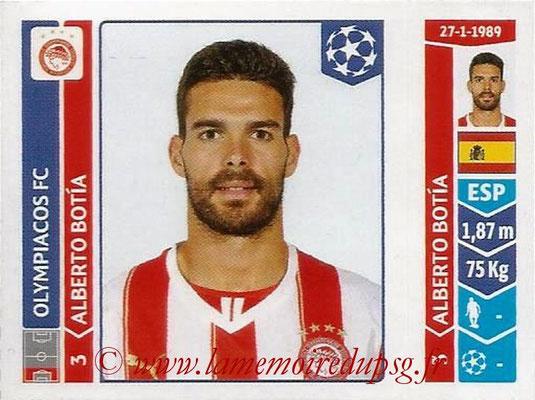 2014-15 - Panini Champions League N° 075 - Alberto BOTIA (Olympiacos FC)