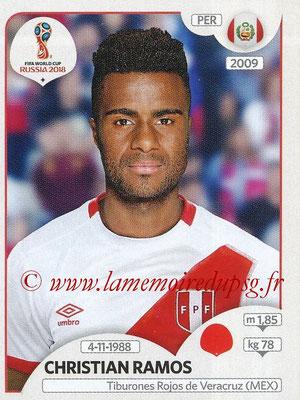 2018 - Panini FIFA World Cup Russia Stickers - N° 238 - Christian RAMOS (Pérou)