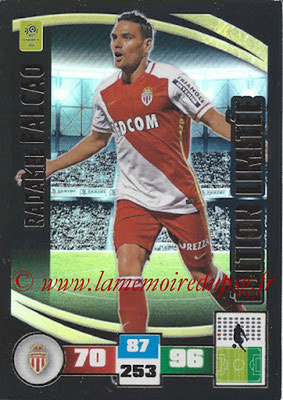 2016-17 - Panini Adrenalyn XL Ligue 1 - N° LE-RF - Radamel FALCAO (Monaco) (Edition Limitée)