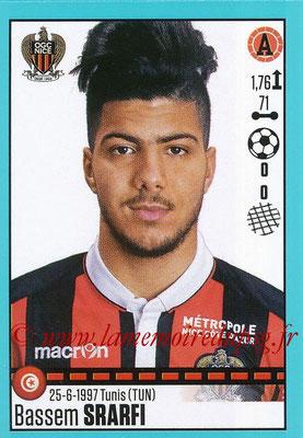 2016-17 - Panini Ligue 1 Stickers - N° T39 - Bassem SRARFI (Nice) (Set Transfert)