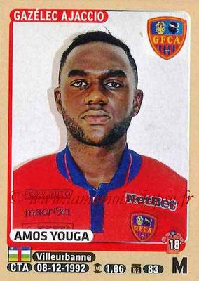 2015-16 - Panini Ligue 1 Stickers - N° 017 - Amos YOUGA (Gazélec Ajaccio)