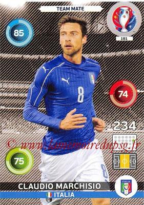 Panini Euro 2016 Cards - N° 181 - Claudio MARCHISIO (Italie)