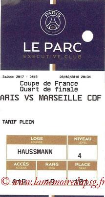 Tickets  PSG-Marseille  2017-18