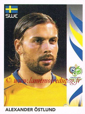 2006 - Panini FIFA World Cup Germany Stickers - N° 157 - Alexander ÖSTLUND (Suède)