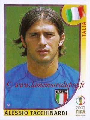 2002 - Panini FIFA World Cup Stickers - N° 466 - Alessio TACCHINARDI (Italie)