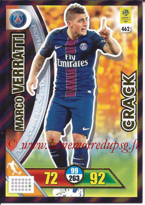 2017-18 - Panini Adrenalyn XL Ligue 1 - N° 462 - Marco VERRATTI (Paris Saint-Germain) (Crack)