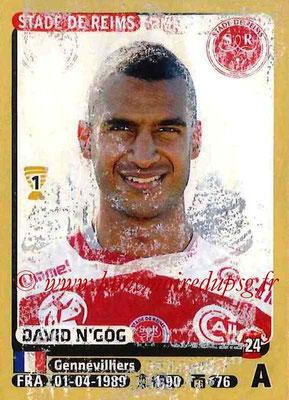 N° 381- David N'GOG (2006-08, PSG > 2015-16, Reims)